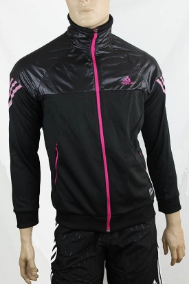 adidas originals jacket uomo nero