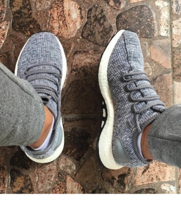 new product 2c62b 59256 ... Running shoes adidas running Sneakers PureBOOST m Gray man-Running shoes  adidas PureBOOST Sneakers sports