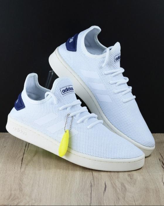 huge selection of 0905b fb0db ... Scarpe Tennis sportive Sneakers Adidas Court Adapt Sportswear Lifestyle  originale Uomo Bianco Blue - Sport Tennis ...