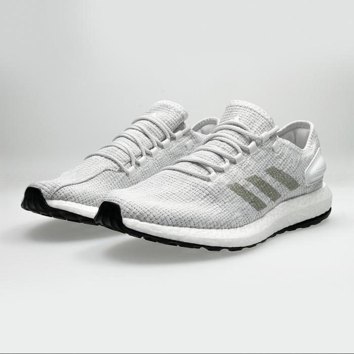 76cd976207c67 ... Racing Running shoes adidas PureBOOST m white man-Running shoes adidas  PureBOOST m man White ...