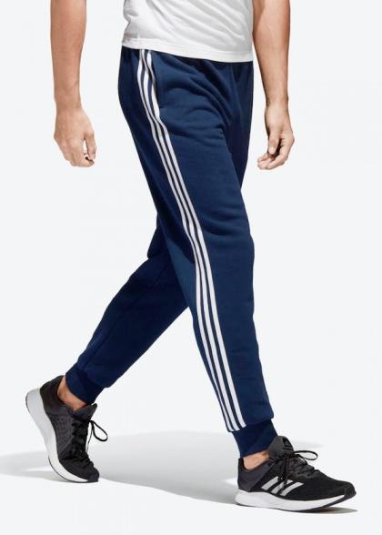 dfc45f634ecf ... Pantalón de chándal Adidas algodón Essentials 3 raya corredores  original 2018 19-man traje pantalón ...