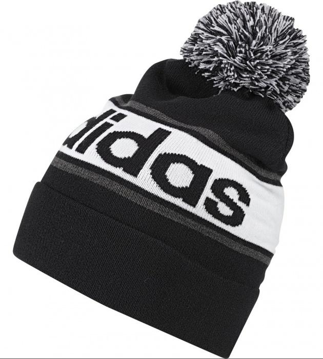 7a45cf5e98ce4 ... Sombrero de lana de invierno invierno Unisex Adidas Adidas Performance  lineal lineal pompón pompones gorro Unisex ...