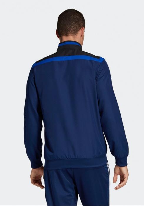 CALCIO Adidas Tiro 19 Presentazione Tuta Giacca Pantaloni Uomo Blu
