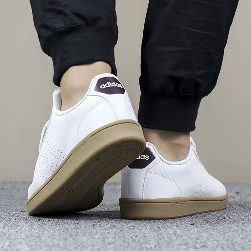 Adidas Chaussures sportif Sneakers style Shoes Blanc Advantage Stan Smith style Sneakers e17f1f