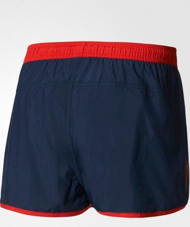 Costume da bagno Spiaggia pantaloncini adidas SPLIT SWIM SHORTS uomo Blue 2017 Swimwear Beach shorts