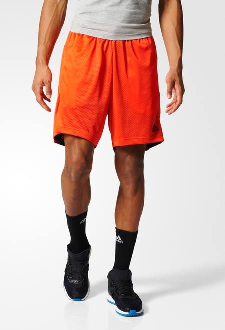 Adidas REVERSIBILE ess Chelsea Pantaloncini Shorts Arancione con tasche Uomo 376ac34fb0f1