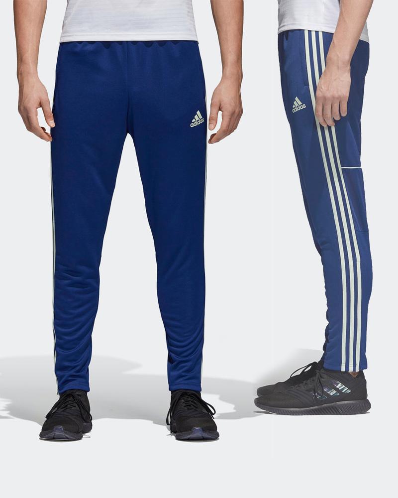 pantaloni adidas con zip
