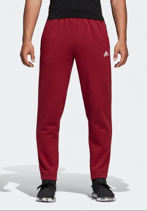 Dettagli su Adidas Pantaloni tuta Pants 2018 19 Rosso con tasche Sport ID Pants Fleece
