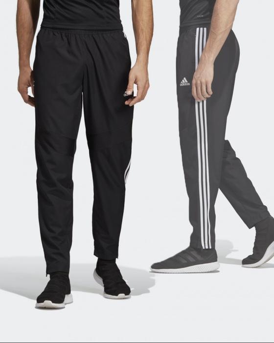 Dettagli su Adidas Pantaloni tuta Pants Tiro Woven 19 Nero con TASCHE a ZIP Climalite
