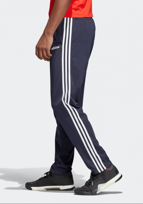 adidas 3 stripe open hem fleece pants uomo's