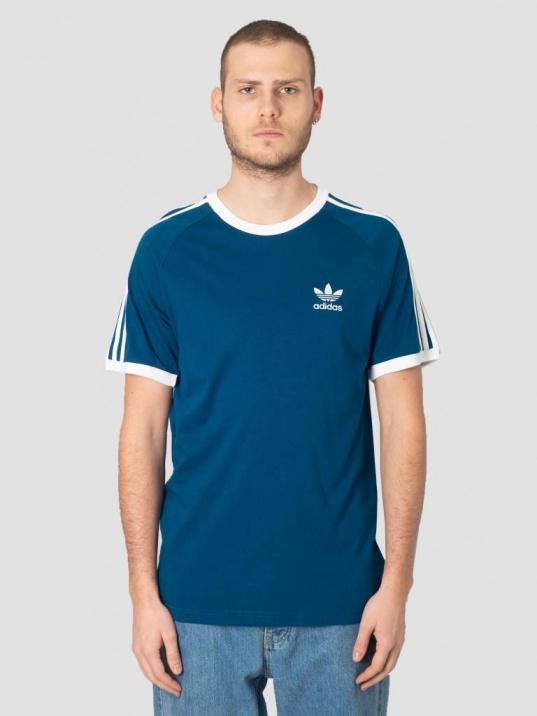 t-shirt uomo adidas blu