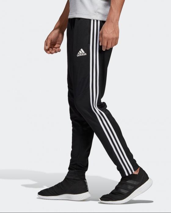 Dettagli su Adidas Pantaloni tuta Pants Nero Caviglia stretta con zip regolabile 2019