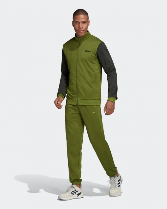 chandal adidas hombre verde