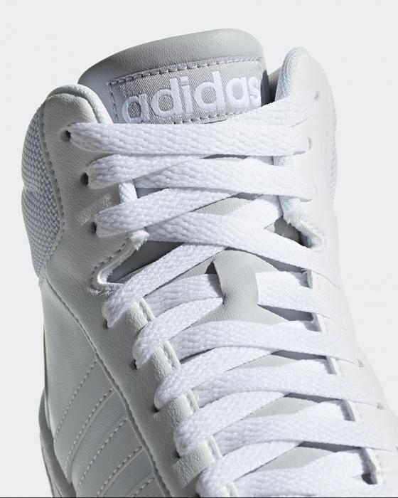 Adidas Scarpe Sportive Sneakers Total Bianco Caviglia alta HOOPS 2.0 MID Uomo | eBay