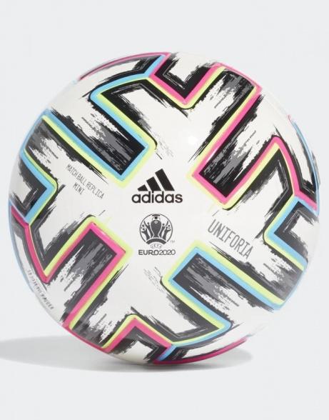 Dettagli su Adidas Miniball Minipalla Bianco TPU UNIFORIA Europei 2020