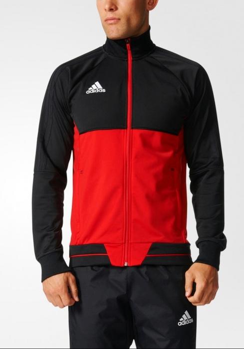 Hombre Adidas Chaqueta Bolsillos Training Entrenamiento Pes Tiro q4X8qB