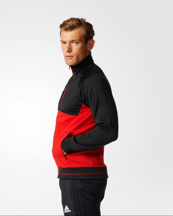 Dettagli su Adidas Giacca Allenamento Training Jacket Tiro Pes Uomo tasche con zip