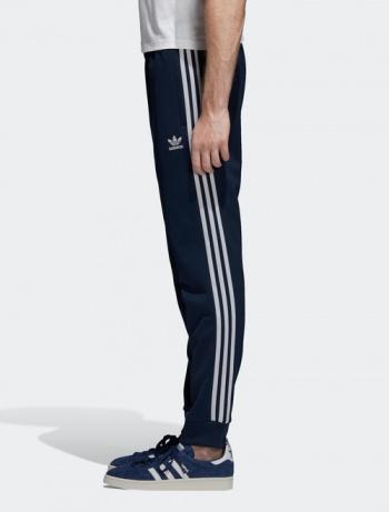 Dettagli su Adidas Originals Trefoil Pantaloni tuta TRACK PANTS SST Blu 2018 Uomo