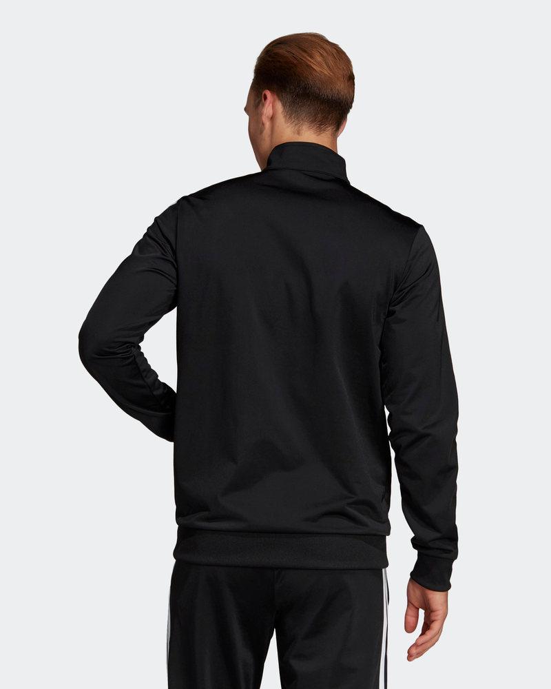 Adidas-Tuta-Sportiva-Uomo-Nero-ESSENTIALS-3-STRIPES-Tempo-Libero-2020 miniatura 11