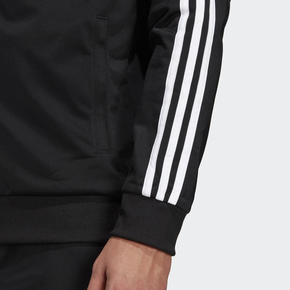 Adidas-Tuta-Sportiva-Uomo-Nero-ESSENTIALS-3-STRIPES-Tempo-Libero-2020 miniatura 10