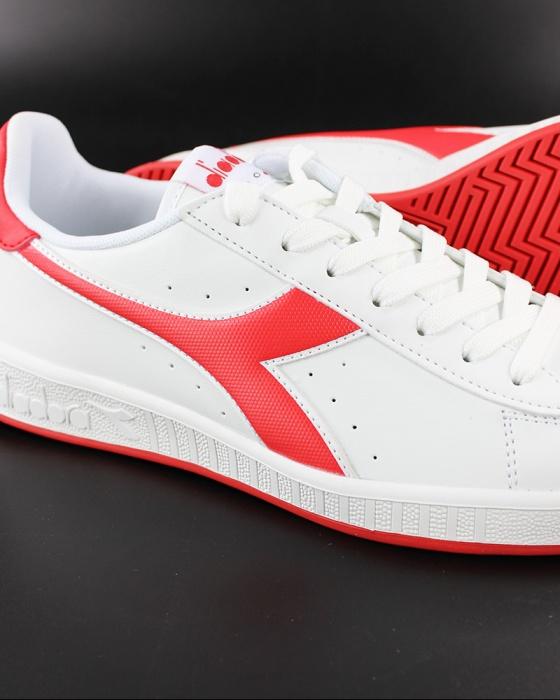 Diadora Scarpe Sportive Sneakers GAME P Uomo Bianco Rosso Sportswear | eBay