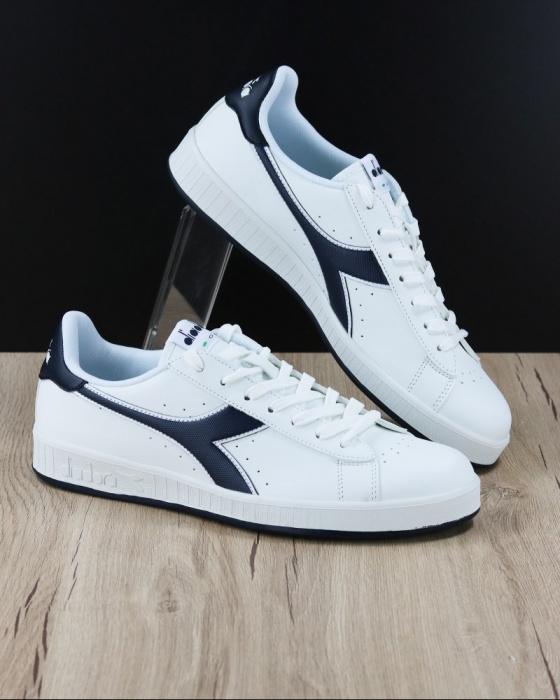 Dettagli su Diadora Scarpe Sportive Sneakers Sportswear GAME P Uomo Bianco Pelle sintetica