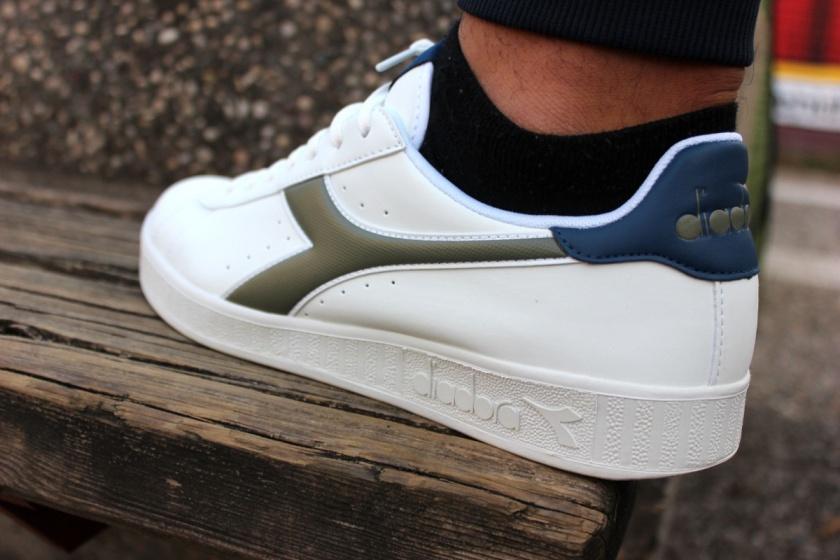 ... Scarpe Sportive Sneakers Diadora GAME P LifeStyle Sportswear Bianco Blu  verde - Sport boots Shoes Sneakers b62ac7606ce
