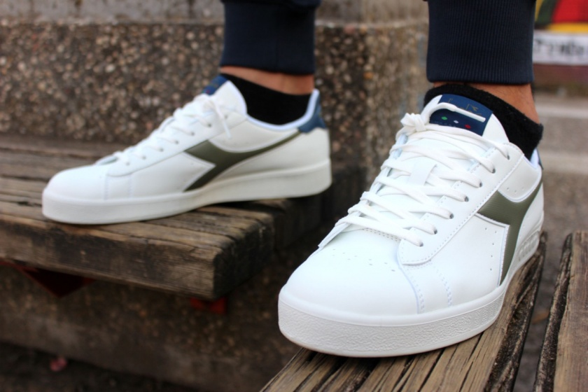 ... Scarpe Sportive Sneakers Diadora GAME P LifeStyle Sportswear Bianco Blu  verde - Sport boots Shoes Sneakers ... 4d6b5d1657b