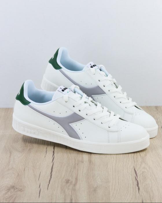 Dettagli su Diadora Scarpe Sportive Sneakers Sportswear GAME P Uomo 2019 Bianco Verde
