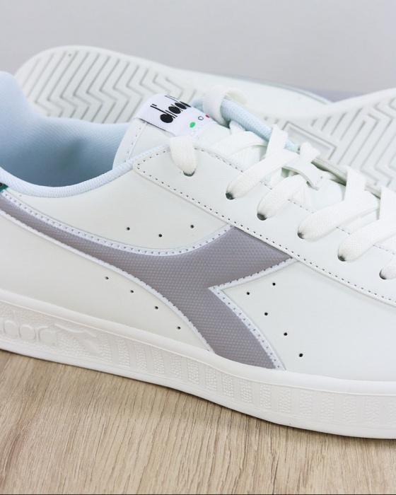 DIADORA Game P Gem scarpa sportiva bianco grigio