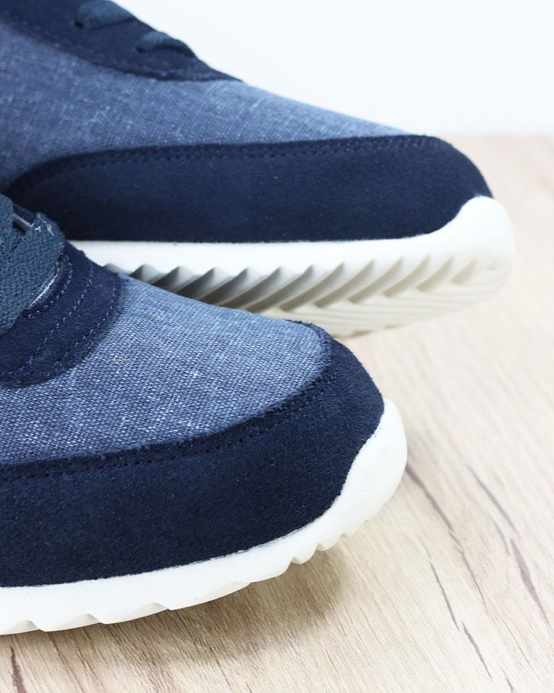 Diadora-Scarpe-Sportive-Sneakers-lifestyle-Sportswear-Jog-Light-Blu-canvas miniatura 4