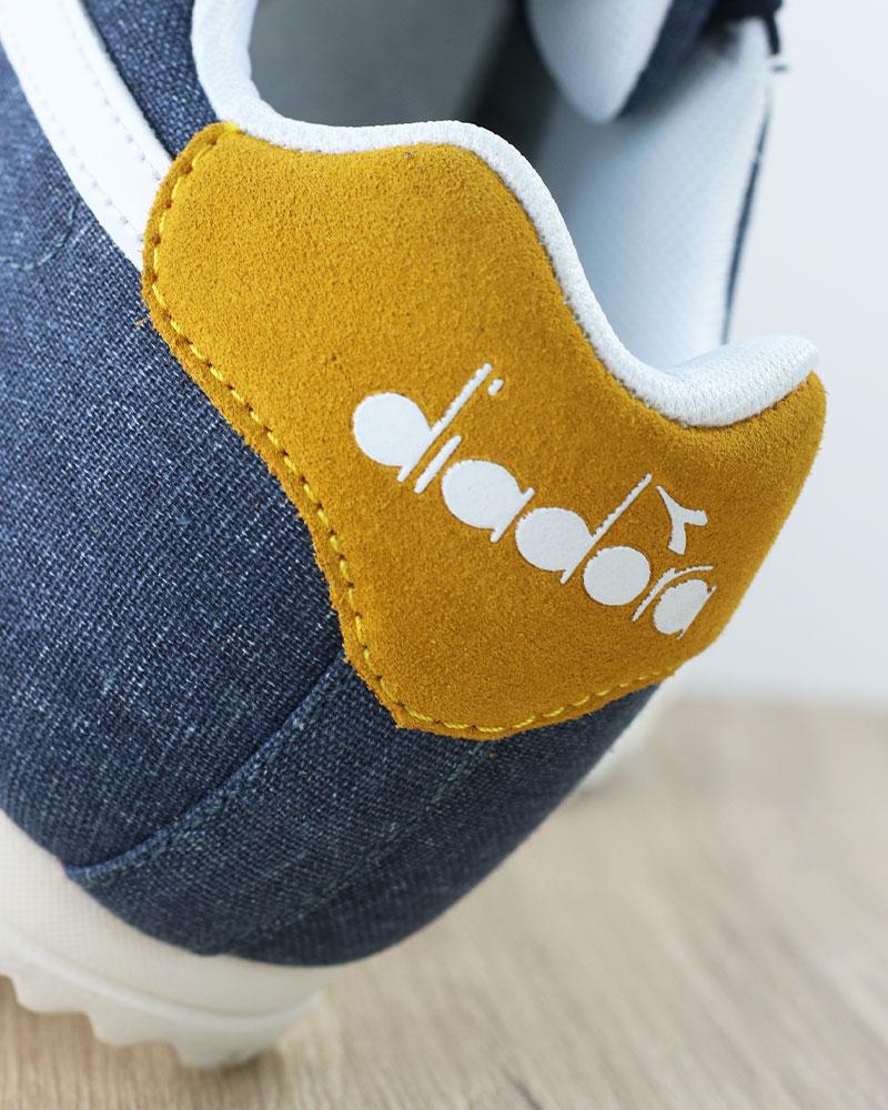 Diadora-Scarpe-Sportive-Sneakers-lifestyle-Sportswear-Jog-Light-Blu-canvas miniatura 10