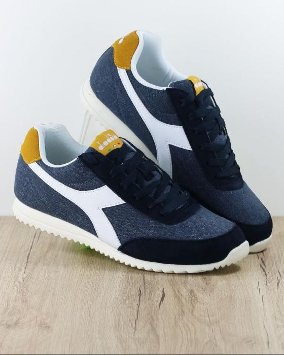 Scarpe Sneakers Diadora Lifestyle Sportswear Sportive Blu Jog Light tdoCsxhBQr