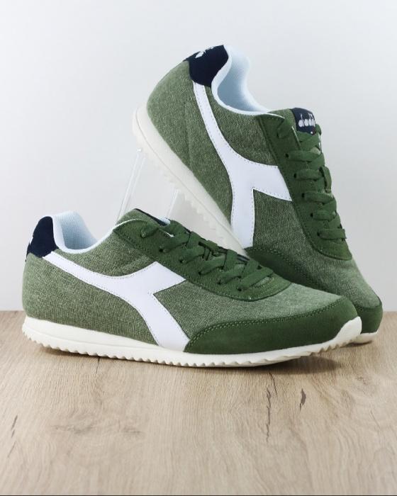 Sport Diadora Sneakers Light Sportswear CanvasEbay Lifestyle Green Shoes Jog wXuOTZiPkl