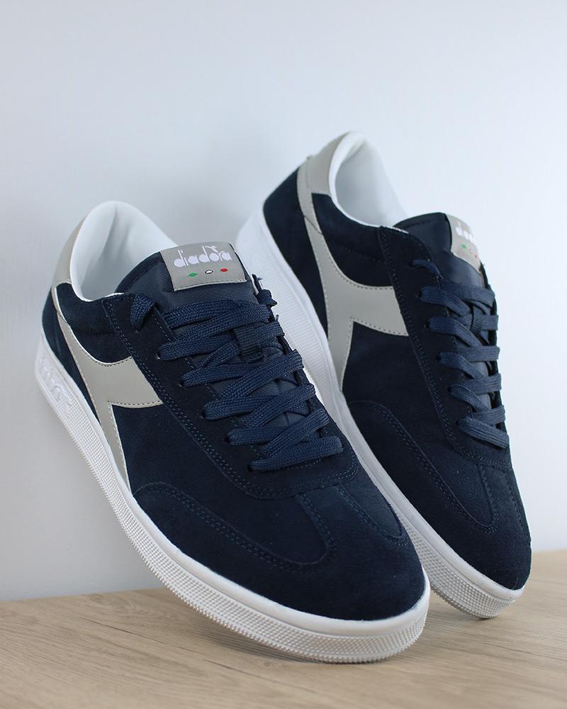 Diadora Scarpe Sportive Sneakers Sportswear Blu Field Suede Lifestyle 8926e3a4a85