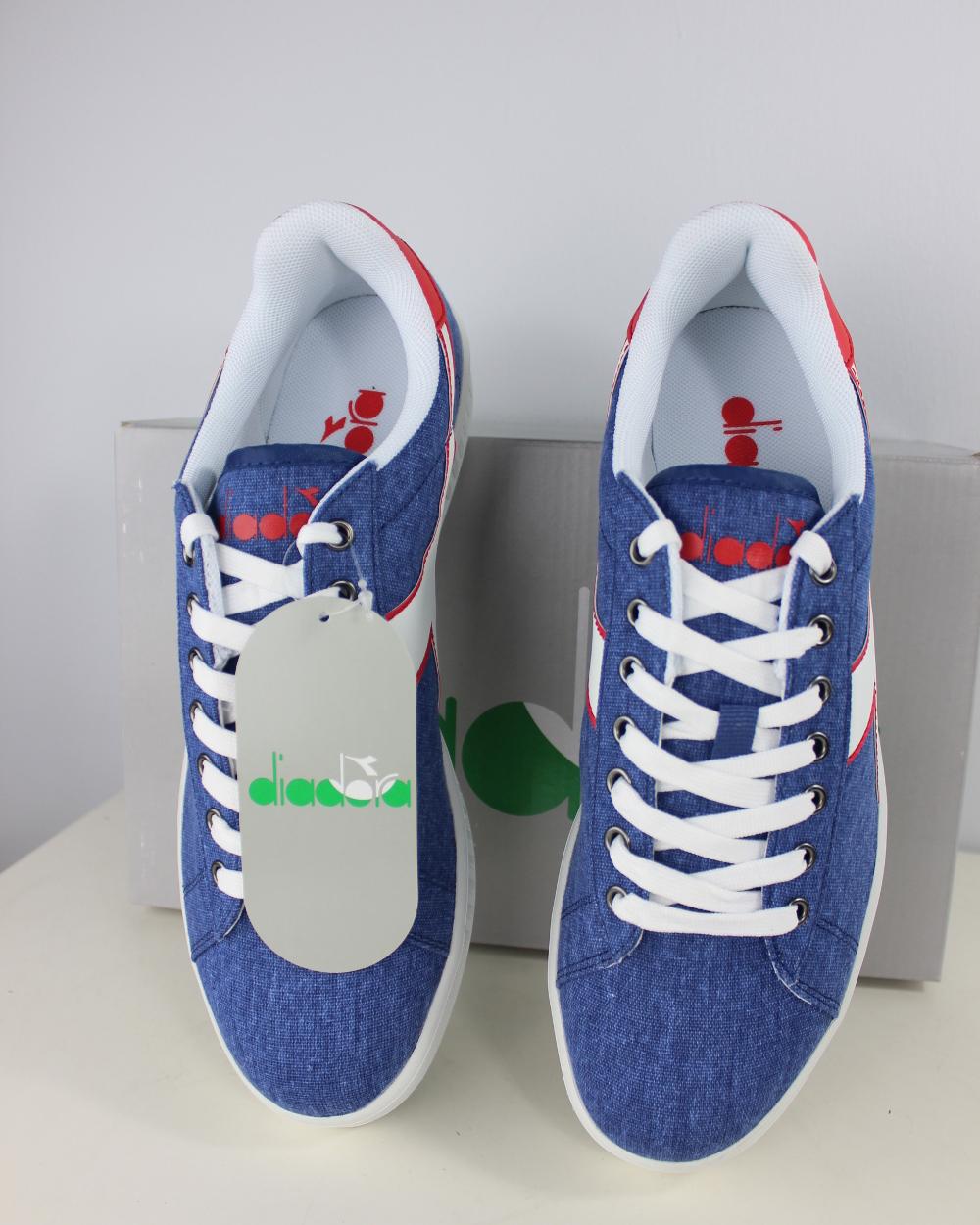 Natural Y Libremente Venta Barata Cómoda Diadora Scarpe Sneakers Ginnastica Tennis LifeStyle Blu Game Canvas Venta De Moda Últimas Colecciones A La Venta Tienda De Venta Barata De o0feRgd