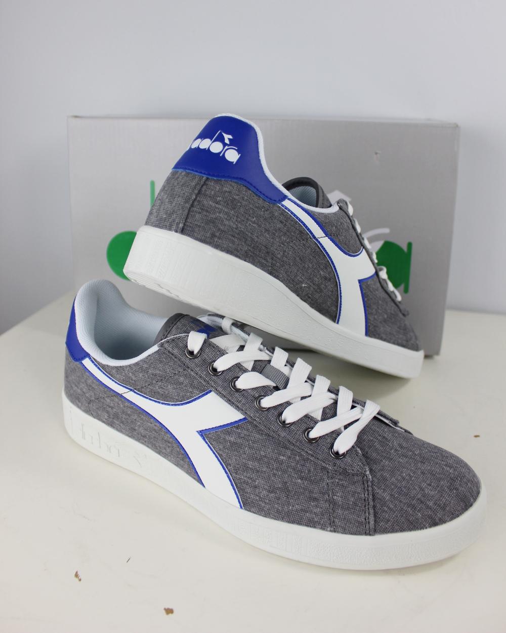 Diadora Scarpe Sneakers Ginnastica LifeStyle Sportswear Game Canvas ... 87511286b0f
