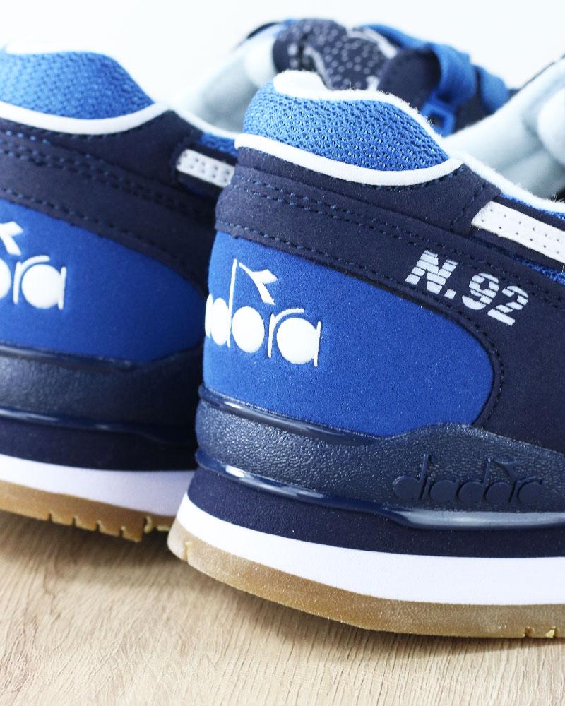 Diadora Scarpe Sportive Sneakers Lifestyle sportswear N.92 Blu Lunare 6 6  sur 9 ... 86e93cc0716