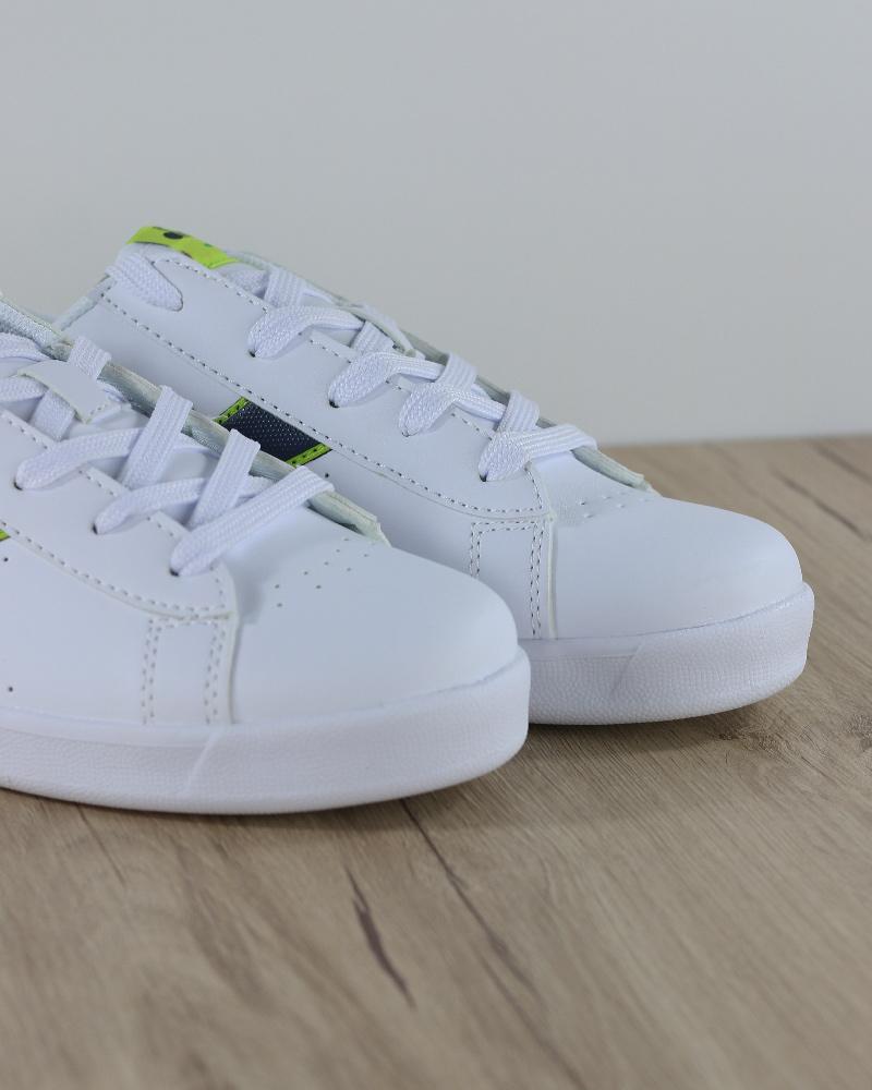 Diadora-Scarpe-sportive-Sneakers-Game-P-GS-Donna-Bambino-Lifestyle-Bianco-Verd miniatura 7