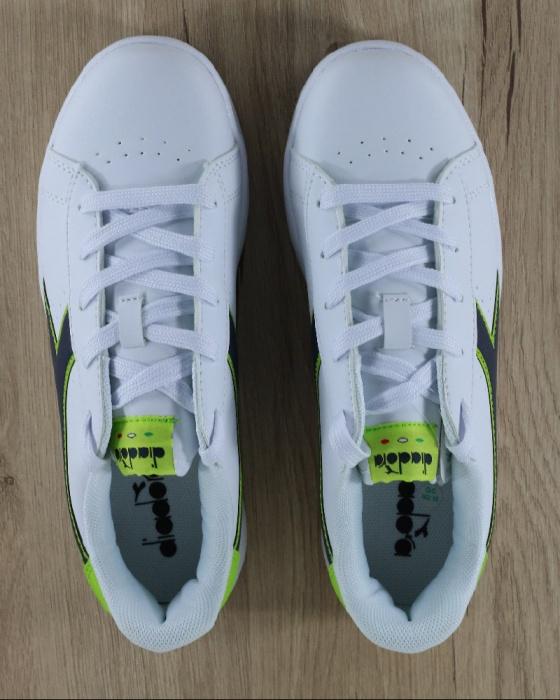 ... Scarpe Sportive Sneakers Diadora game p gs Lifestyle sportswear Donna  Bambino Bianco Verde - Sport Shoes ... e72d96f888b