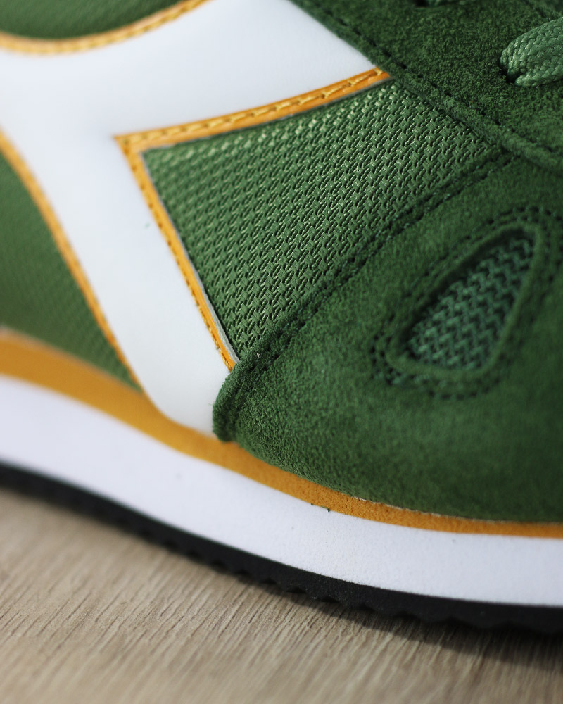 Diadora-Sports-Shoes-Sneakers-Lifestyle-Sportswear-Green-Bronze-Simple-run thumbnail 3