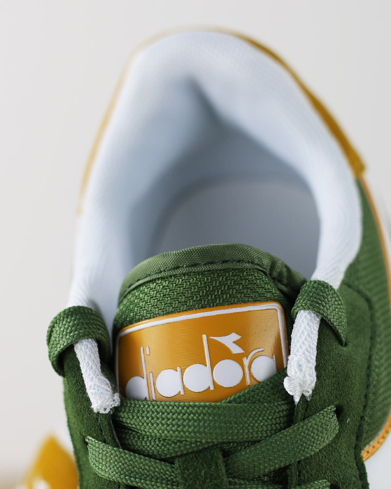 Diadora-Sports-Shoes-Sneakers-Lifestyle-Sportswear-Green-Bronze-Simple-run thumbnail 4