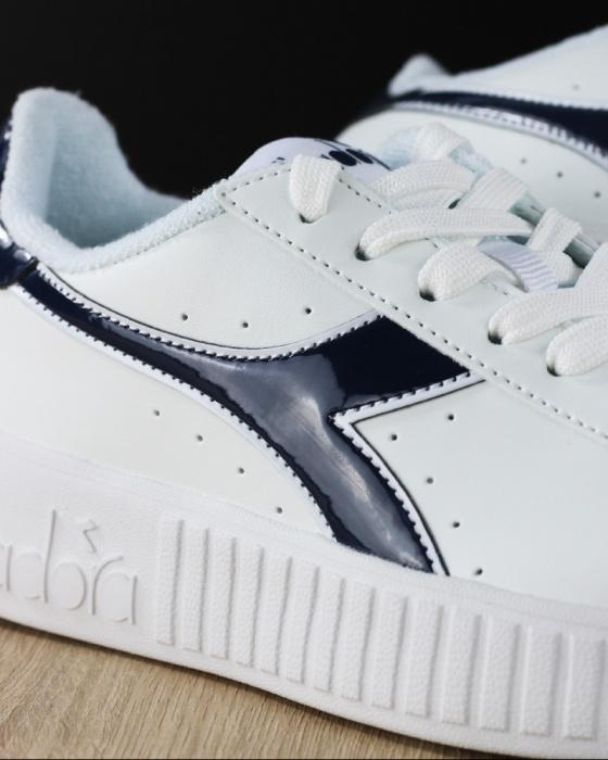 ... Scarpe Sportive Sneakers Diadora GAME P STEP Lifestyle sportswear Donna  Bambino Bianco Blu - Sport Shoes ... ff15e9c4e62
