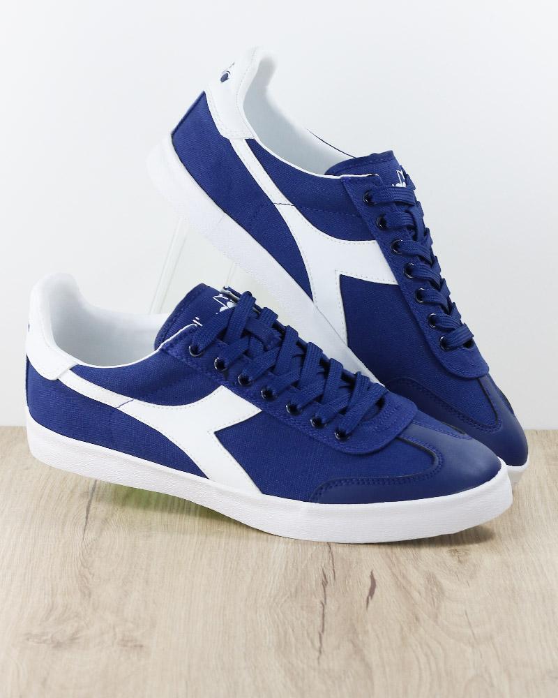 Diadora Scarpe Sportive Ginnastica Sneakers Lifestyle PITCH Canvas Nero