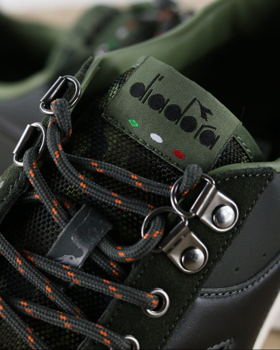 Dettagli su Diadora Scarpe Sportive Sneakers Sportswear Verde GAME P SIERRA