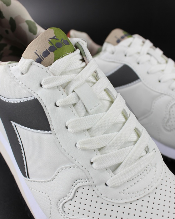Dettagli su Diadora Scarpe Sportive Sneakers OLYMPIA GEM Bianco Sportswear
