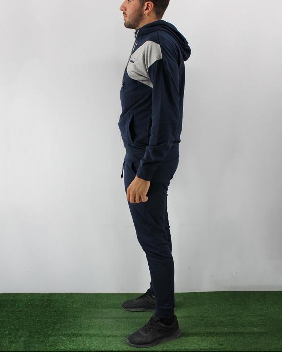 TUTA DIADORA 102.175097 HD FZ Cuff Suit Unbrushed FL Core