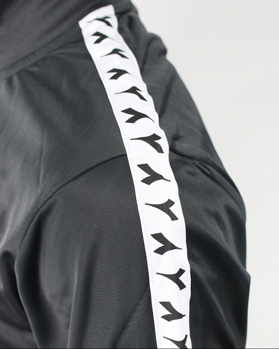 Diadora Tracksuit Workout Training Tracksuit FZ Cuff Suit Chromia Mens Black 201 | eBay