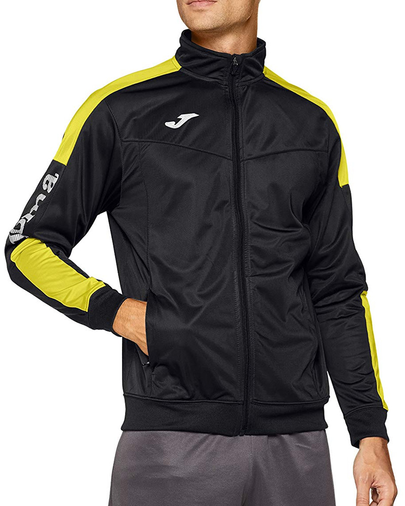 Joma-Giacca-Allenamento-Training-Jacket-Champion-IV-Polsini-a-Costine-Uomo miniatura 7