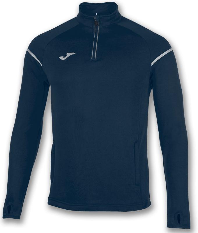 55a829a8bbdc ... Felpa Mezza zip Running allenamento Joma RACE uomo - Half zip  sweatshirt Running Training Joma RACE ...
